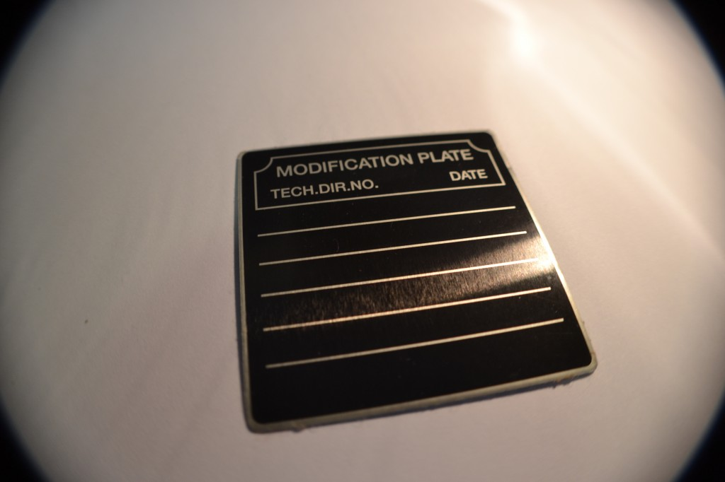 Aluminum Identification Labels on Aluminum - 3M Adhesive - Click For A Quote!