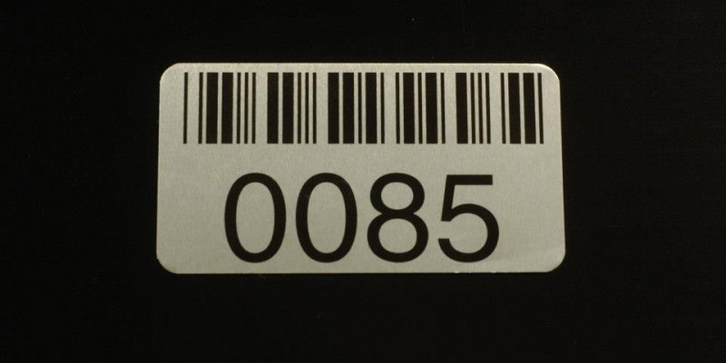 Barcode Plates, ID Plates, ID Labels, Richmond VA