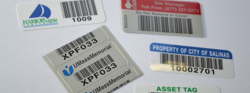 Barcode Labels, UID Labels, Asset Tags, Richmond VA