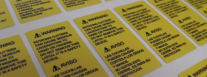 Warning Labels, Richmond VA, Caution Labels, Vinyl Labels, Richmond VA